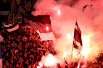 Spectatori Partizan vs Steaua Rosie