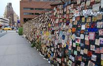 Zidul Memorial 9/11 din Greenwich Village, New York