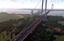 Podul suspendat de la Braila