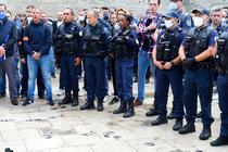 Protest politisti Franta