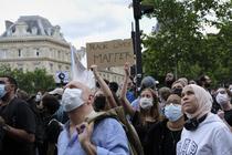 Protest Black Lives Matter in Paris