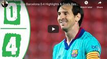 Messi, inca un gol pentru Barca