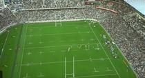 Spectatori la rugby in Noua Zeelanda