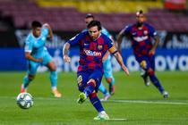 Lionel Messi, inca o reusita pentru Barca