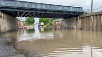 Inundatie Pasajul Chitila