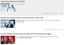 Zero Hedge, privat de reclama prin Google