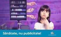 Sănătate, nu publicitate