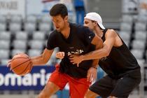 Novak Djokovic si Grigor Dimitrov la Adria Tour