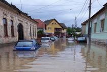 Inundatii la Aiud (Alba)