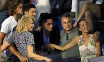 Novak Djokovic, alaturi de parinti şi de sotie, la Adria Tour