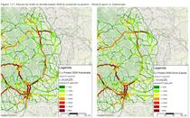 Fluxurile de trafic din Moldova in 2030 - Autostrada vs Drum Expres