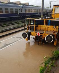 Inundatii la Teius