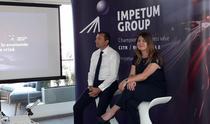 Andrei Cionca si Alina Barsan la prezentarea indicelui Confidex