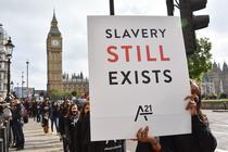 Protest anti-sclavie în Marea Britanie