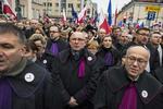 Protest magistrati polonezi