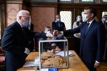 Emmanuel Macron la vot