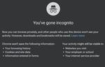 Incognito Mode, Google Chrome
