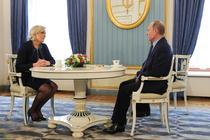 Marine Le Pen si Vladimir Putin