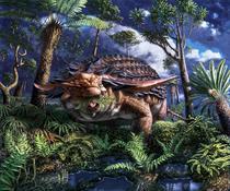 Dinozuaurul Borealopelta markmitchelli