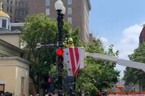 placuta stradala Black Lives Matter