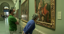 prima vizita la muzeu in Madrid