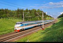 Trenul ER 200 din Rusia