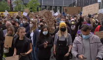 Manifestatie impotriva rasismului Londra