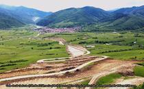Primul lot in lucru al autostrazii Sibiu - Pitesti