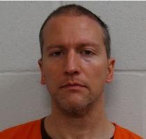 Derek Chauvin, in arest
