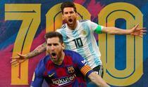 Messi, la borna 700 in cariera
