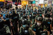 Mobilizarea politiei la 1 iulie