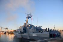 Nava purtătoare de rachete NPR Zborul