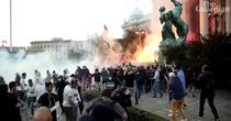 Manifestatii Serbia