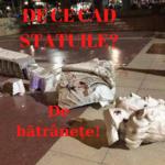 De ce cad statuile? De bătrânețe
