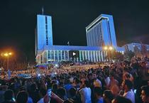 Protest in Baku