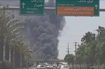 Incendiu Bushehr