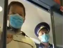 politisti in tren