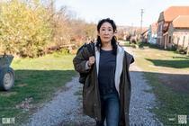 Scenă din seria Killing Eve, filmată în Romania
