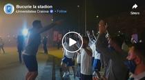 Bucuria fanilor Craiovei