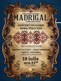 """Concert cu Corul Național de Cameră """"Madrigal"""""""