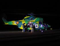 Interventie cu elicopterul in Mali