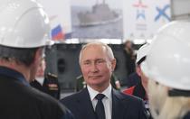 Vladimir Putin in Crimeea