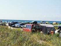 Cu masinile pe plajele salbatice