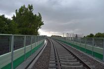 Calea ferata de la aeroport
