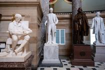 Statui confederate in Capitoliul SUA