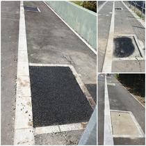 Alveolele de pe strada Fabrica de Glucoza, asfaltate