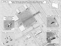 Imagini prezentate de Pentagon cu forțele Wagner