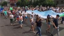 Noi proteste la Habarovsk (Rusia)