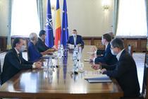 Iohannis, ședință cu Orban