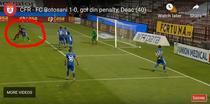 Penalti la meciul CFR vs Botosani